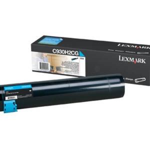 Toner Original C935dtn Ciano / Azul - C930H2CG Lexmark