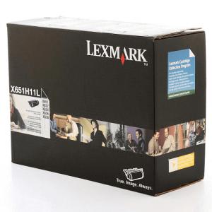 Toner Original X656 Preto - X651H11L / X651H11B Lexmark