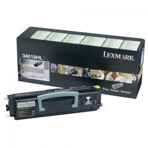 Toner E340 34018HL Lexmark Original Com 1 Ano de Garantia – IToner.com.br