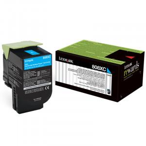 Toner   808XC  80C8XC0 Lexmark Original Com 1 Ano de Garantia – IToner.com.br