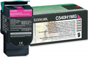 Toner C540 C540H1MG Lexmark Original Com 1 Ano de Garantia – IToner.com.br