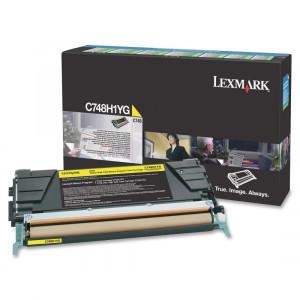 Toner C748DE C748H1YG Lexmark Original Com 1 Ano de Garantia – IToner.com.br