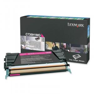 Toner C736 C736H1MG Lexmark Original Com 1 Ano de Garantia – IToner.com.br