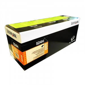 52D4H00 - Toner Original MS810dn Preto 52DBH00 - 524H Lexmark