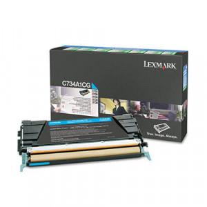 Toner Original C734dn Ciano / Azul – C734A1CG Lexmark
