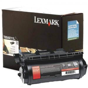Toner Original T654n Preto – T654X11L / T654X11B Lexmark