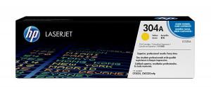 Toner CP-2025 304A CC532A HP Original Com 1 Ano de Garantia – IToner.com.br