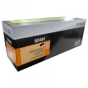 Toner MS610DE   504H  50F4H00 Lexmark Original Com 1 Ano de Garantia – IToner.com.br